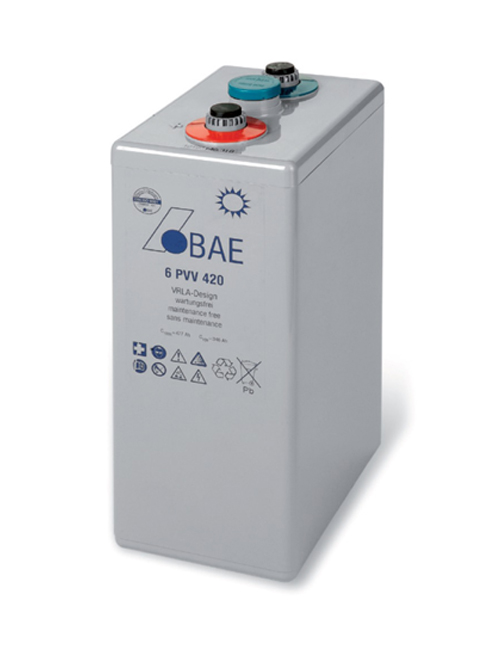 BAE Secura Battery 2V Gel