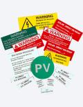 Solar Labels