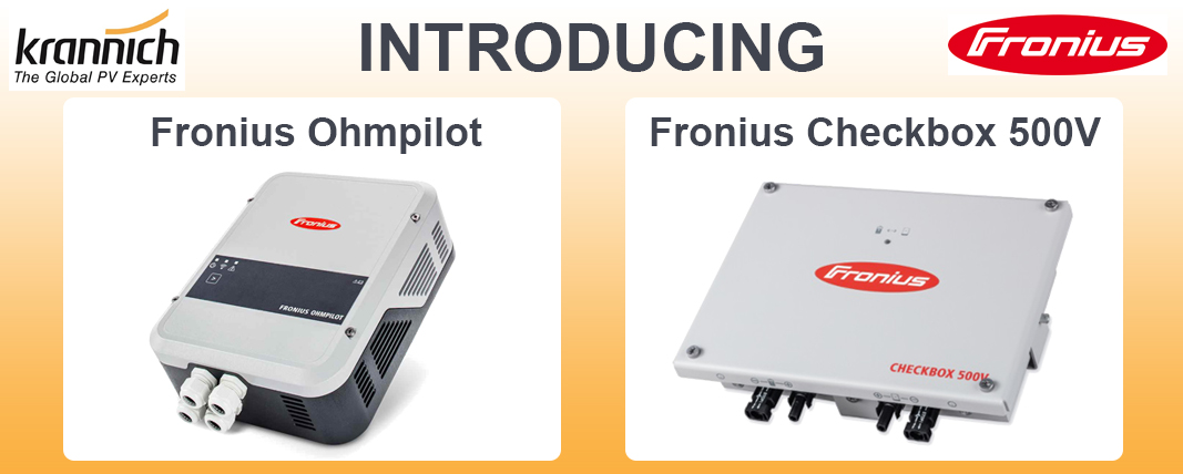 Introducing Fronius Ohmpilot And Fronius Checkbox 500v